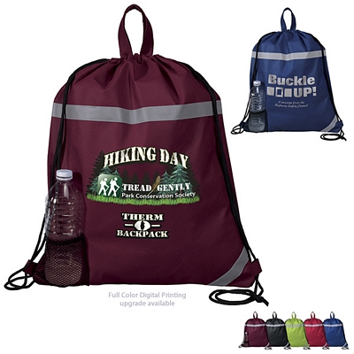 Customized Therm-O-Backpack Drawstring Cooler Bag