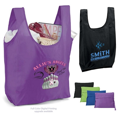 Customized T-PAC Polyester Foldable Shopping Bag