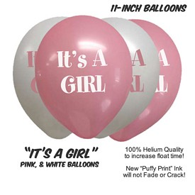 Promotional ItS A Girl Balloon Assortment