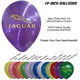 Customized 14 Inch Balloons Biodegradable Latex