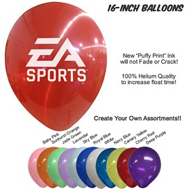 Promotional 16 Inch Balloons Biodegradable Latex