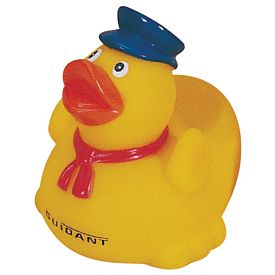 Promotional Train Conductor Taxi Driver Rubber Duck