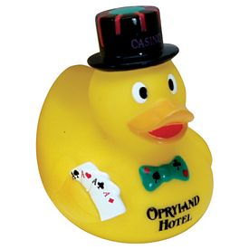 Custom Casino Rubber Duck