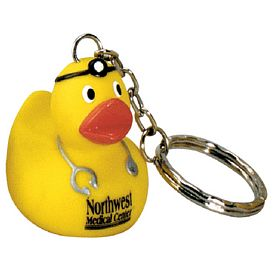 Custom Doctor Ducky Key Ring