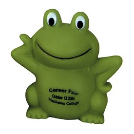 Custom Smarty Froggy Rubber Toy