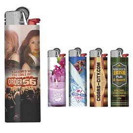 Customized Bic Full Color Digital J26 Maxi Lighter