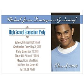 Customized Bic Save The Date Graduation Invitation Magnet