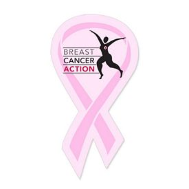 Custom Bic Breast Cancer Awareness Ribbon Magnet