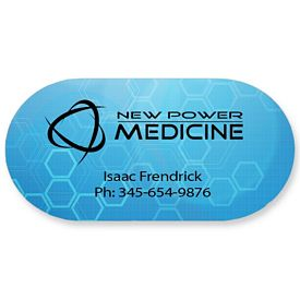 Promotional Bic Pill Capsule Magnet