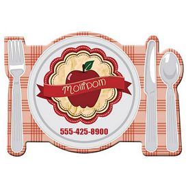 Promotional Bic Table Setting Magnet