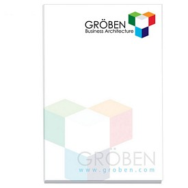 Custom Bic 2X3 Adhesive Sticky Notes 25 Sheets