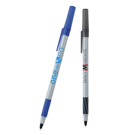 Customized Bic Round Stic Grip Pen