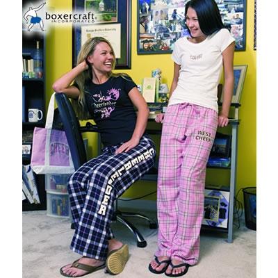 Boxercraft F19 Spiritwear Tie Cord Flannel Pants Screen