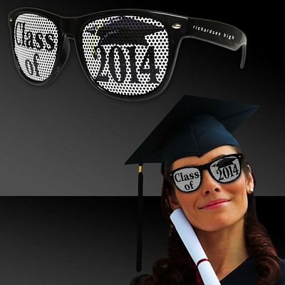 Promotional Class of 2014 Black Billboard Sunglasses