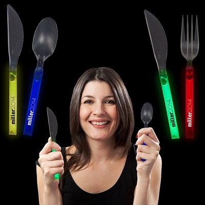 Promotional Glowing Cutlery Pack