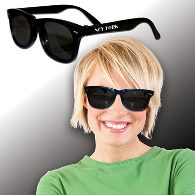 Promotional Blues Black Sunglasses