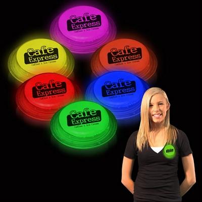 Promotional Glow Shape Badges