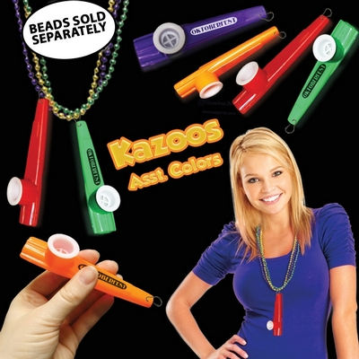Promotional 3-1/2'' J-Hook Kazoo