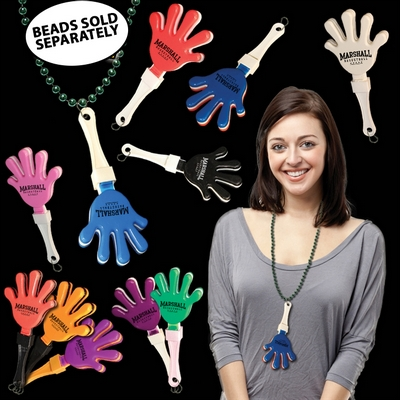 """Promotional 7"""" J-Hook Hand Clappers"""