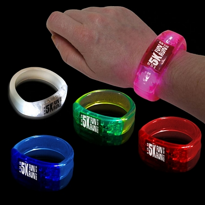Promotional 8'' Lighted Bangle Bracelet