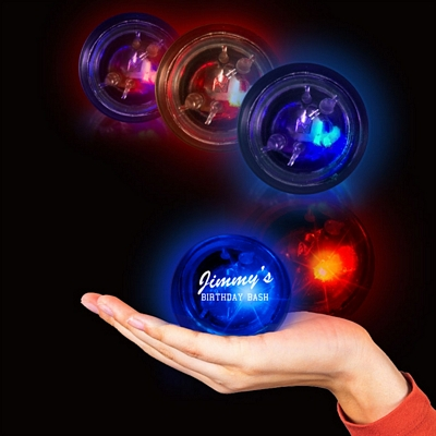 Promotional 1-7/8'' Light-Up FlashBalls