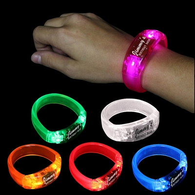 Promotional Soundsation Light-Up LED Bangle Bracelet