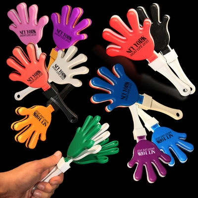 "Promotional 7"" Hand Clappers"