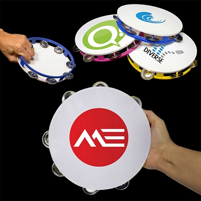 Promotional 8'' Plastic Tambourines