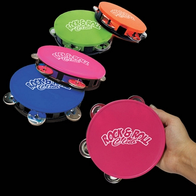 Promotional 5-1/2'' Colorful Tambourines