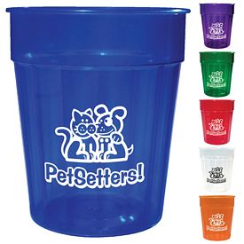 Customized Hl 24 Oz Fluted Jewel Stadium Cup