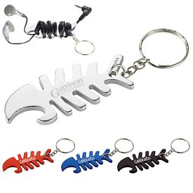 Promotional Aluminum Fish Bone Bottle Opener