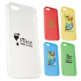 Promotional Gel See-Through Case For Iphone 5-5S