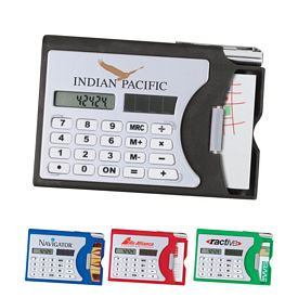 Customized Calculator - Business Card Holder