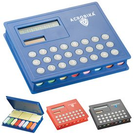 Promotional Calculator Sticky Note Case