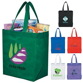 Promotional The Liberty Heat Seal Grocery Tote Bag