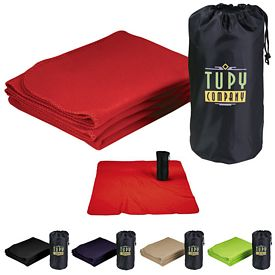 Promotional Rally Blanket With Pouch