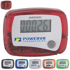 Customized In Shape Pedometer