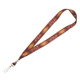 Customized 1 Wide Full Color Premium Lanyard
