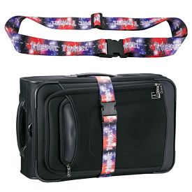 Promotional 2 Wide Full Color Luggage Strap