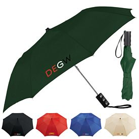 Promotional Seattle 36 Folding Auto Umbrella