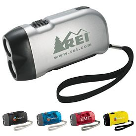 Promotional Hand-Powered Flashlight