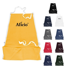 Promotional 10 Oz Colored Canvas Bib Apron