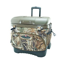 Custom Realtree Camo Cool Fushion Roller Cooler