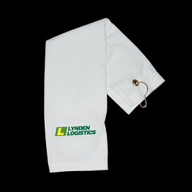 Promotional Tri-Fold Grommet Golf Towel