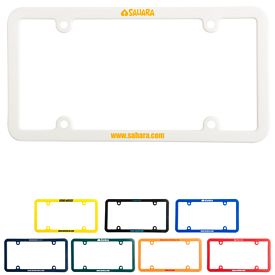 Custom License Plate Frame 4 Holes Universal Fitting