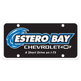 Customized License Plate Insert