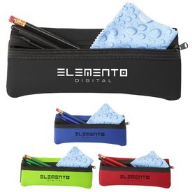 Promotional Ilearn Pencil Pouch Tech Kit