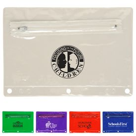 Customized School Fair Translucent Supply Pouch