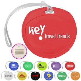 Promotional Traveler Round Luggage Tag
