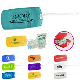 Promotional Protect Travel First Aid Tag